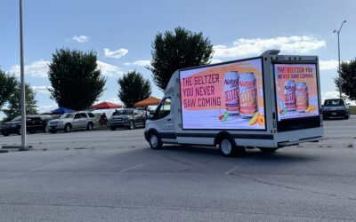 Natural Light Mobile Digital Billboard Georgia